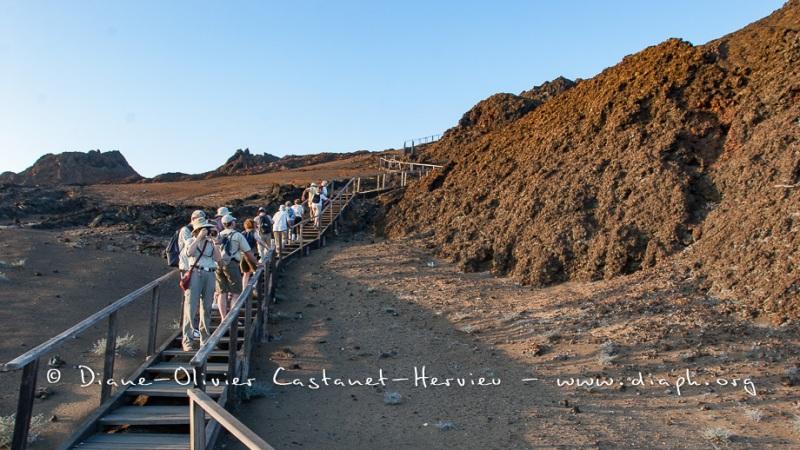 Payysage des Galapagos, île de Bartholomé