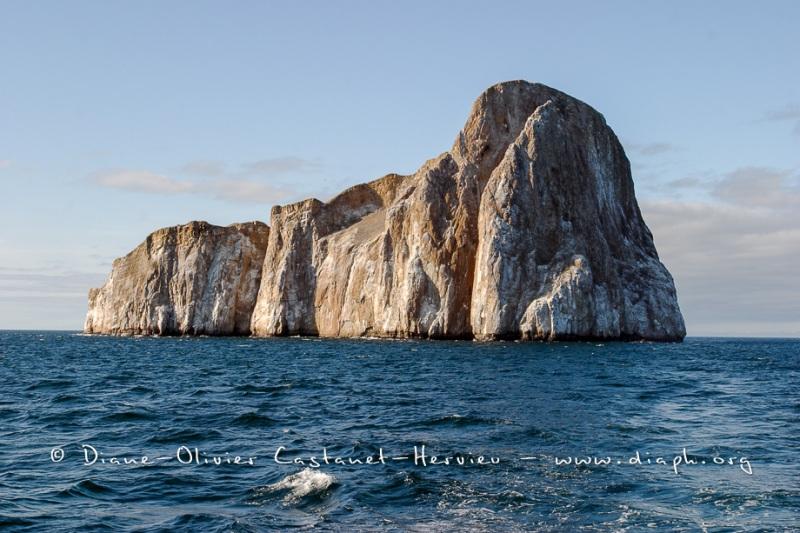 ïle de Léon Dormidos a proximité de l'île de san Christobal.