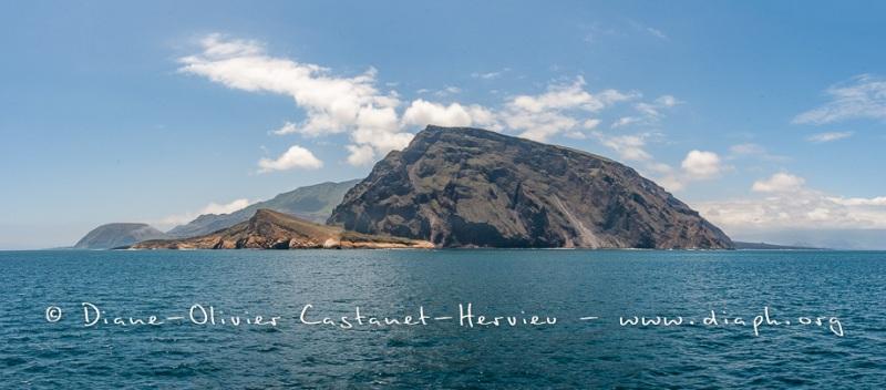 Paysage ïle Isabela, volcan Equador - ïles Galapagos